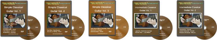 classical guitar lessons on dvd